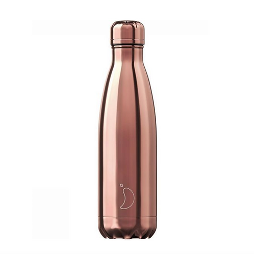 Chilly's rose gold or 500ml bouteille