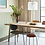 Thumbnail: Hübsch table chêne chevrons 2mx1m