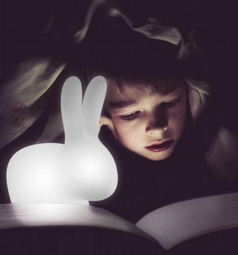 lampe Qeeboo Rabbit XS nomade et rechargeable