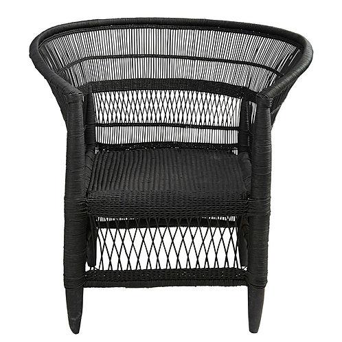 MALAWi fauteuil noir