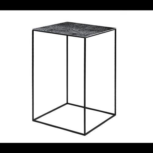 5385dc8a08fdb Table basse Slim Irony   41 x 41 x H 64 cm - Zeus