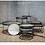 Thumbnail: Ethnicraft Set de tables bois 93cm et 62cm