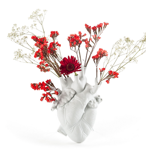 Seletti - Vase Love in Bloom / Coeur humain