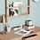 Thumbnail: Hübsch bureau chêne naturel 120cm
