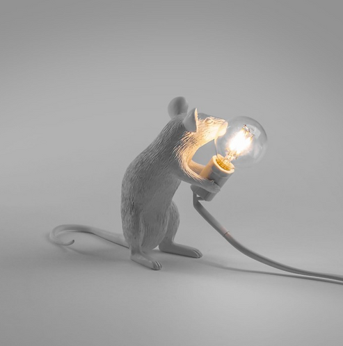 Lampe Mouse Sitting