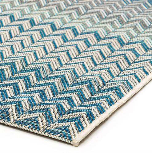 Roolf Carpet ZIGGY Blue/Beige