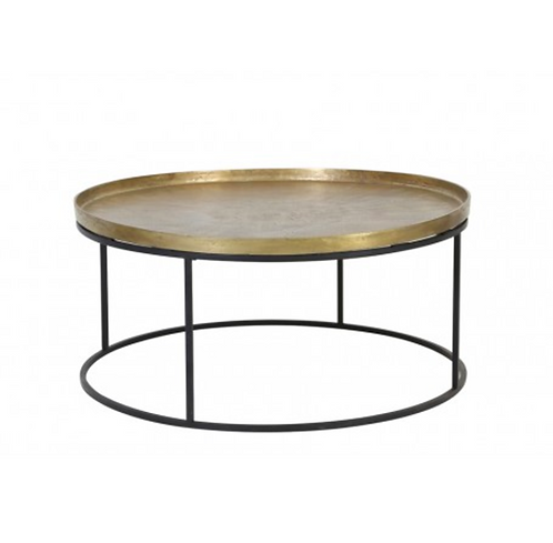 Sienna gold table de salon