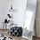 Thumbnail: Miroir en chêne Hübsch autoportant