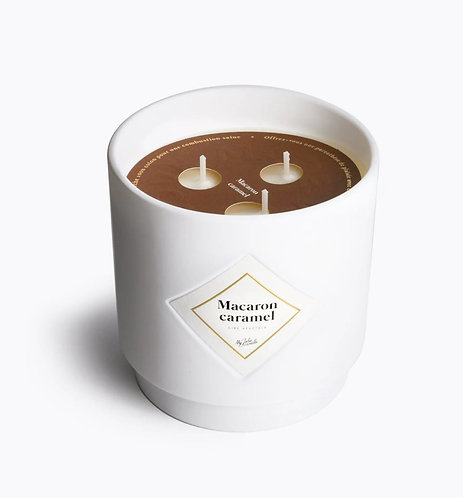 My Jolie Candle - Bougie 100h - Macaron Caramel