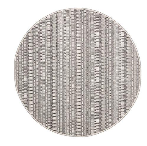 Tapis Roolf - Zulu Grey Round