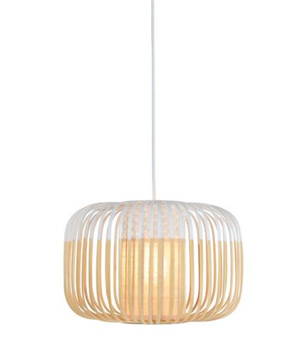 Bamboo Light S white / H 23 x Ø 35 cm - Forestier