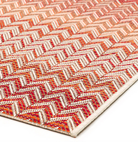 Roolf Carpet ZIGGY Rouge/Beige