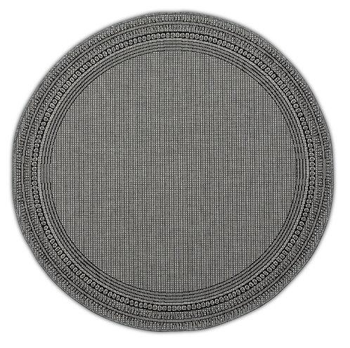 Tapis Roolf - Harper Grey Round