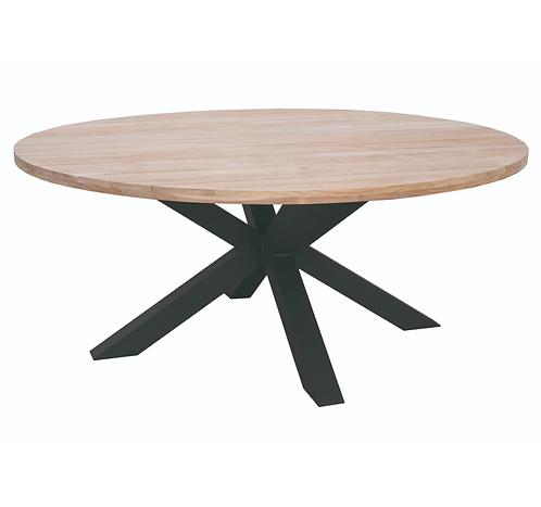 Table teck massif FELINE