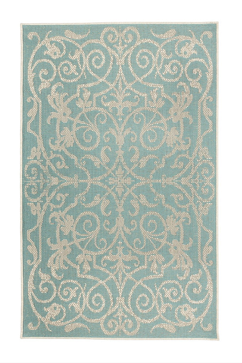 Roolf Carpet Summer Quay Turquoise