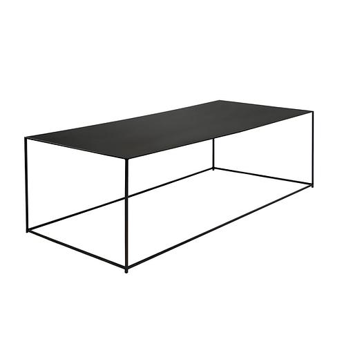 Table basse Slim Irony 124x62xH34 cm Zeus Noto