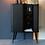 Thumbnail: Armoire vintage black - porte coulissante