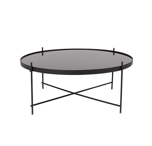 ZUIVER cupid table basse noire XXL