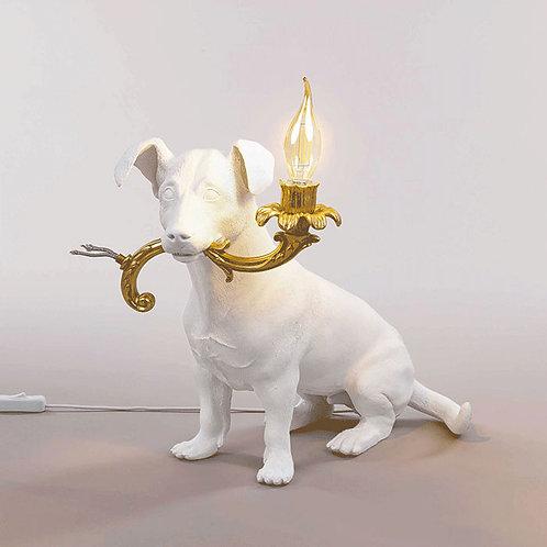 Seletti RIO Lampe à poser Chien en résine H34cm