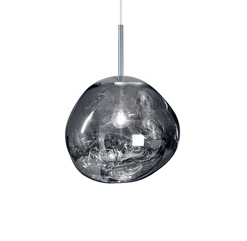 Suspension Melt Mini Chromé / Ø 27 cm - Tom Dixon
