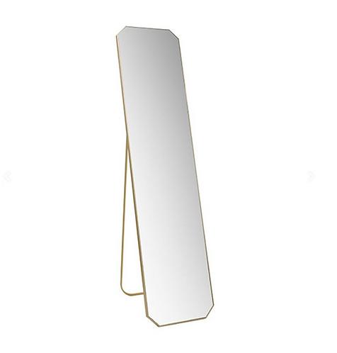 Miroir sur pied laiton  HKLIVING