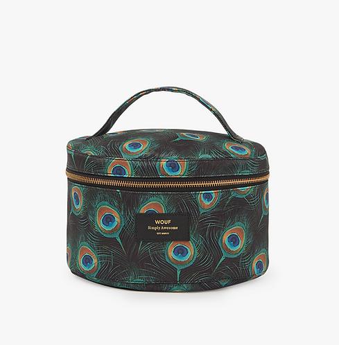 Wouf - Peacock paon XL Makeup Bag