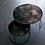Thumbnail: Etnicraft Bronze Copper Nesting coffee table set