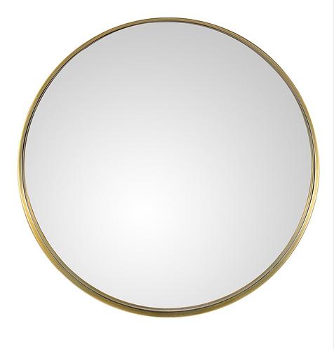 Miroir laiton Ø 60 & Ø 92 ALICIA