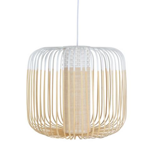 Bamboo Light Medium WHITE / H 40 x Ø 45 cm - Forestier