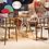 Thumbnail: Table carré Sir Gio - Verre 120x120cm Kartell