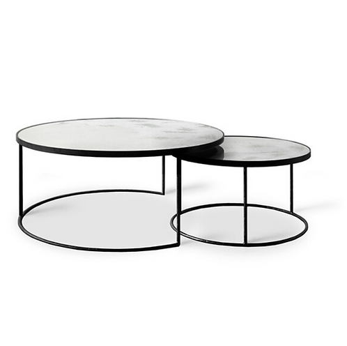 Etnicraft Nesting coffee table set