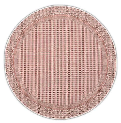 Tapis Roolf - Harper Red Round