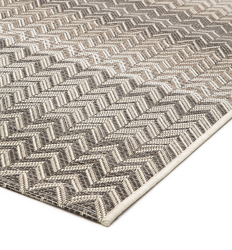 Roolf Carpet ZIGGY Anthracite/Beige
