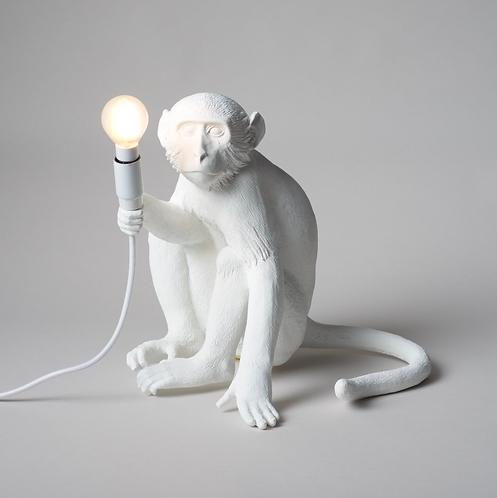 Lampe Singe de table Monkey Sitting / Indoor - H 32 cm