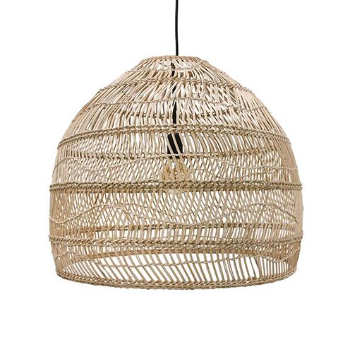 HKliving - wicker pendant lamp ball M