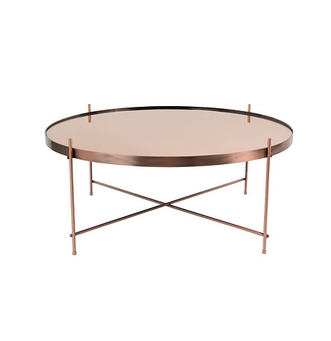 ZUIVER cupid table basse rose gold XXL