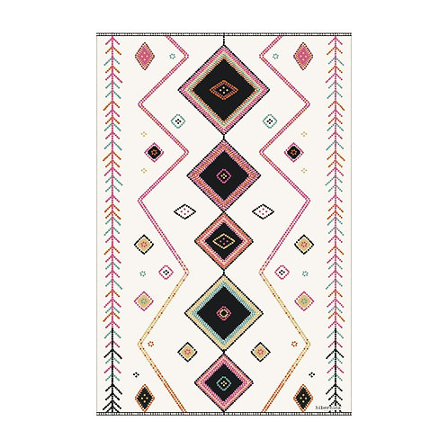 Tapis rectangle vinyle - PÔDEVACHE