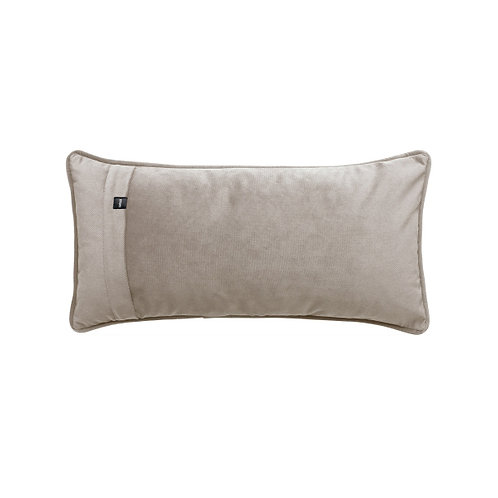Coussin velours rectangle 30x60cm