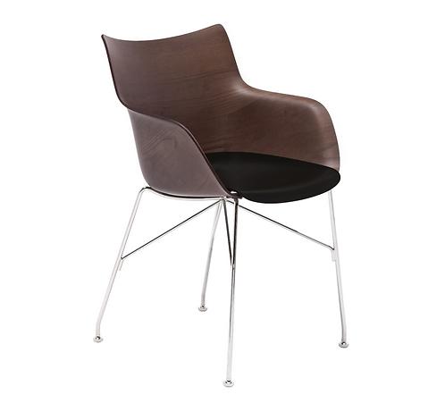 chaise Q/Wood / frêne - Kartell