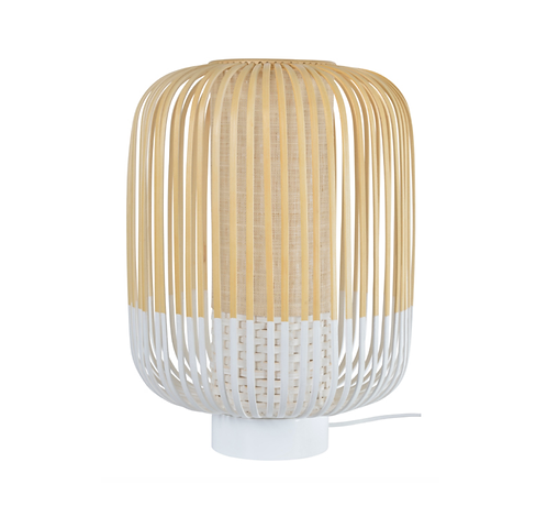 Lampe de table Bamboo Light BLANC/ H 39 x Ø 27 cm - Forestier