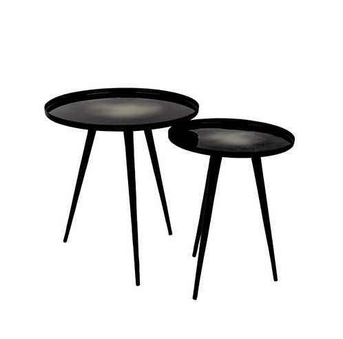 ZUIVER tables basses Duo Moon black