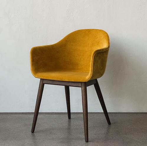 chaise HARBOUR MENU A/S tissu pied bois