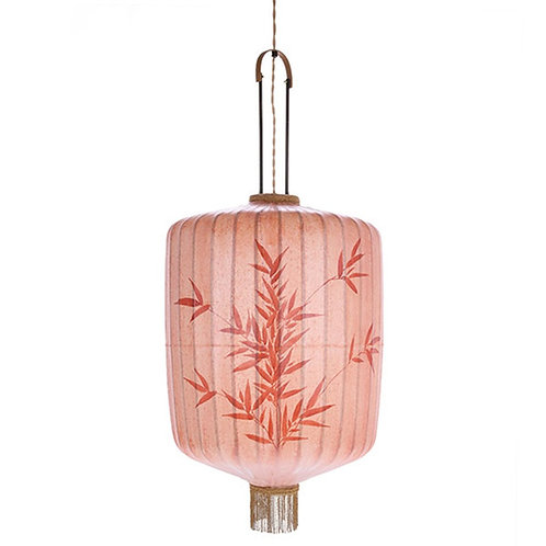 traditional lantern xl pink HKLIVING