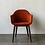 Thumbnail: chaise HARBOUR MENU A/S tissu pied bois
