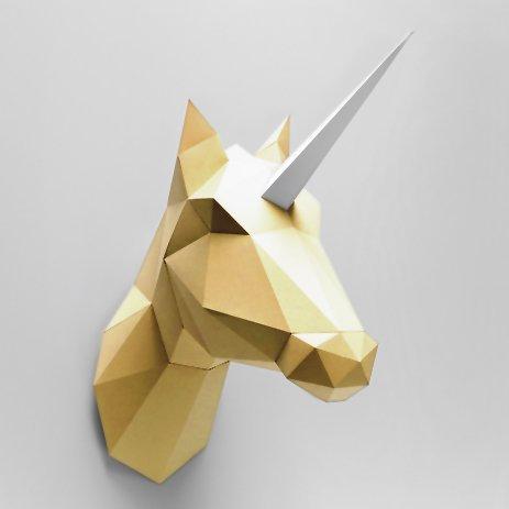 Trophée Licorne dorée