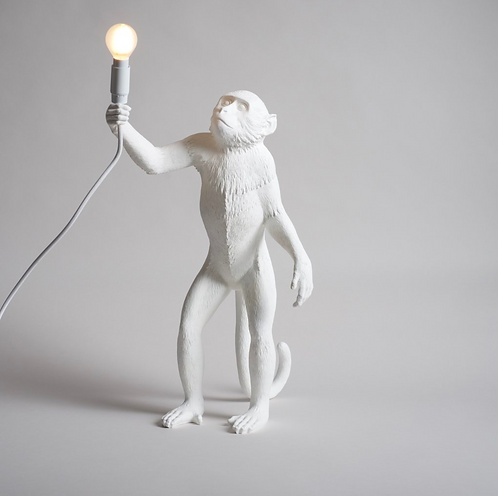 Lampe Singe de table Monkey Standing / Indoor - H 54 cm