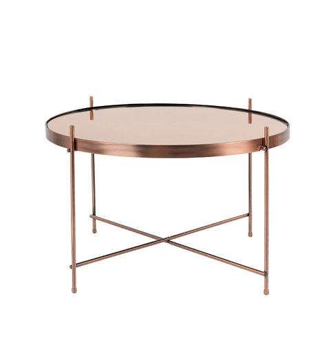 ZUIVER cupid table basse rose gold L
