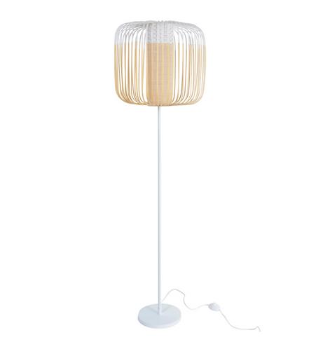 Lampadaire Bamboo Light BLANC / H 150 cm - Forestier