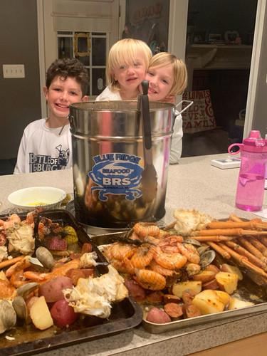 Seafood Steam Pot