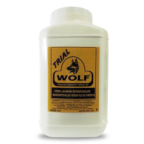Κρέμα καθαρισμού χεριών WOLF, Trial